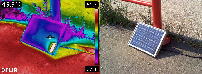 Analisi termografiche per risparmio energetico - revamping - manutenzione pannelli solari 21