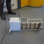 Macchina generatore di calpestio